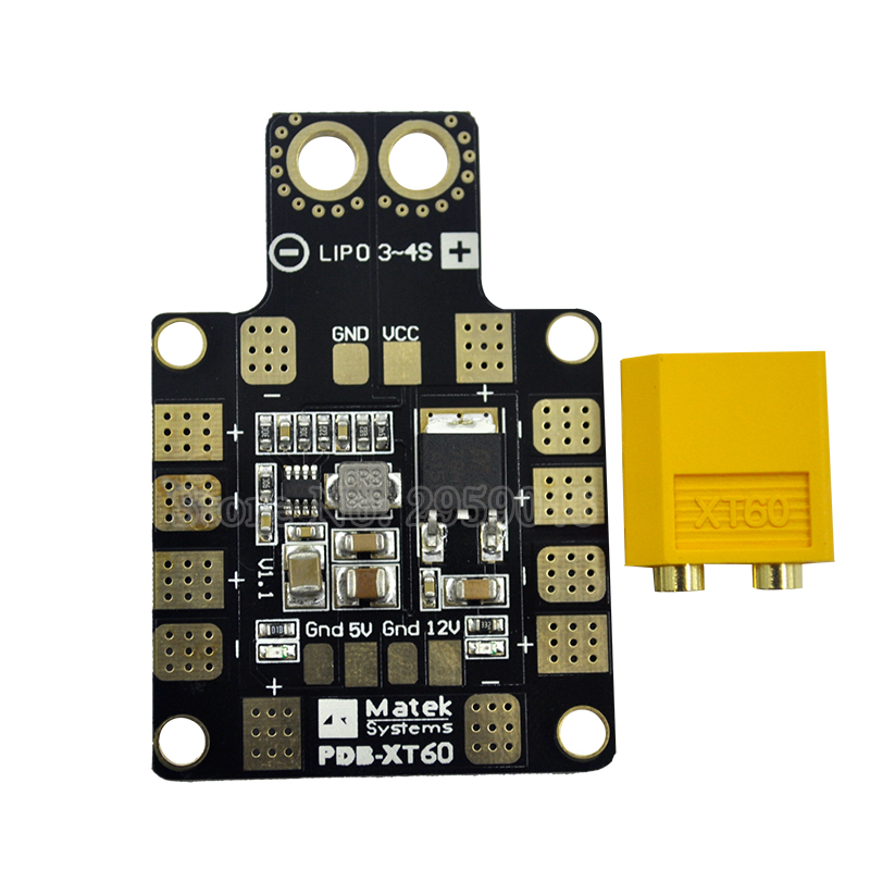 Parts & Accessories Mini Power Hub Pdb Xt60 Power Distribution Board Pdb-xt60 With Bec 5v/12v For Fpv Drone Quadcopter Qav210 Qav180 Kit
