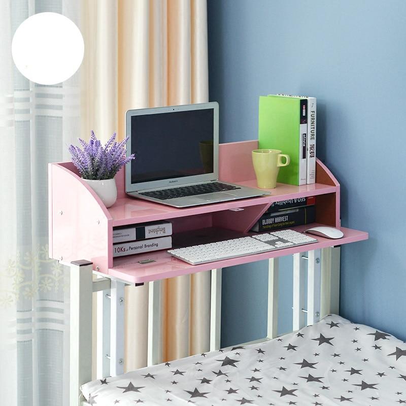 New arrival high quality dormitory laptop desk bedroom creative lazy computer desk 5 colors optional все цены