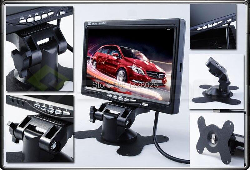 ЖК-дисплей 7 дюймов изделие FPV-системы Мониторы displayer Экран Мониторы фотографии для Наземные станции Внешняя батарея PAL/NTSC