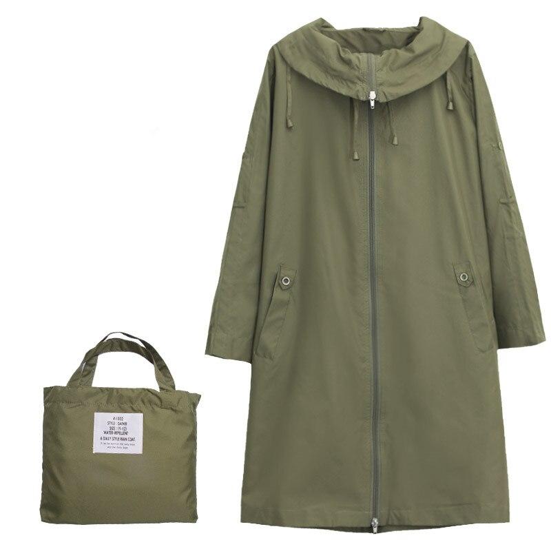 Fashion brand Cute Waterproof Thin Raincoat Women Female Rain Coat Capa De Chuva Chubasqueros Mujer not long sleeve in Raincoats from Home Garden
