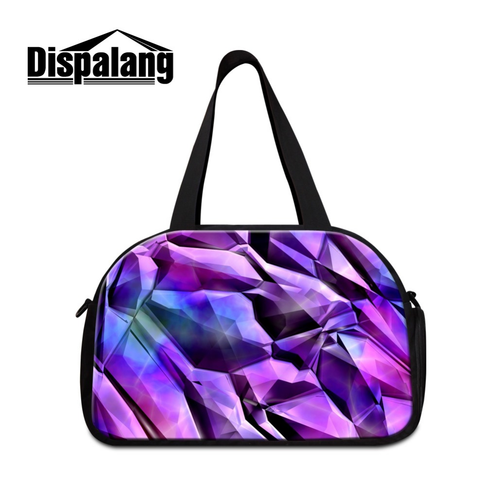 Stylish Gyms Bags Pattern for Women Cool weekend travel bag tourist bags online shopping 3D ...