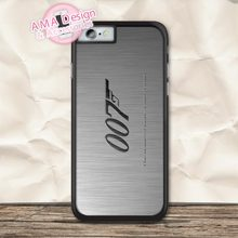James Bond 007 Protective Case For iPhone X Xs Max Xr 8 7 6 6s Plus 5 5s SE 5c 4 4s For iPod Touch стоимость