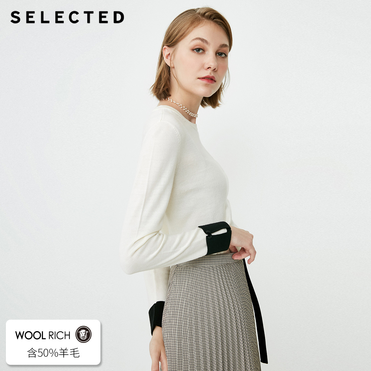 SELECTED Women s Wool blend Assorted Colors Knit Sweater S 418324522