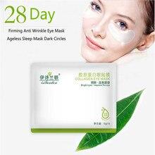 10 Pair 20 PCS Collagen Firming Anti Wrinkle Eye Mask