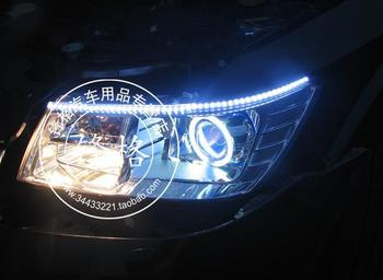 FREE SHIPPING, CHA ANGEL EYE COMPLETE HEADLIGHT, WITH ANGEL EYE AND HID PROJECTOR, COMPATIBLE CARS: JCUV