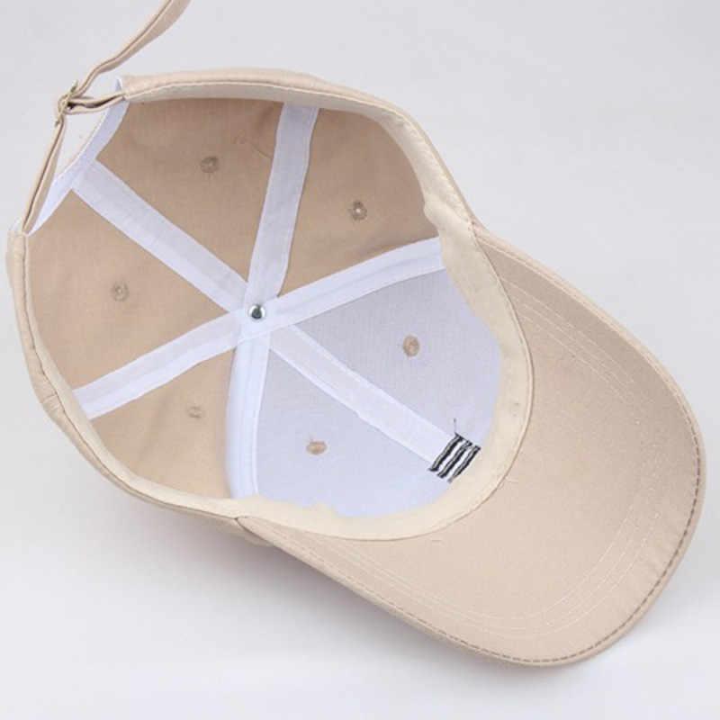 1 ピース野球キャップ男性の調節可能なキャップカジュアルレジャー帽子無地ファッションスナップバック夏秋帽子