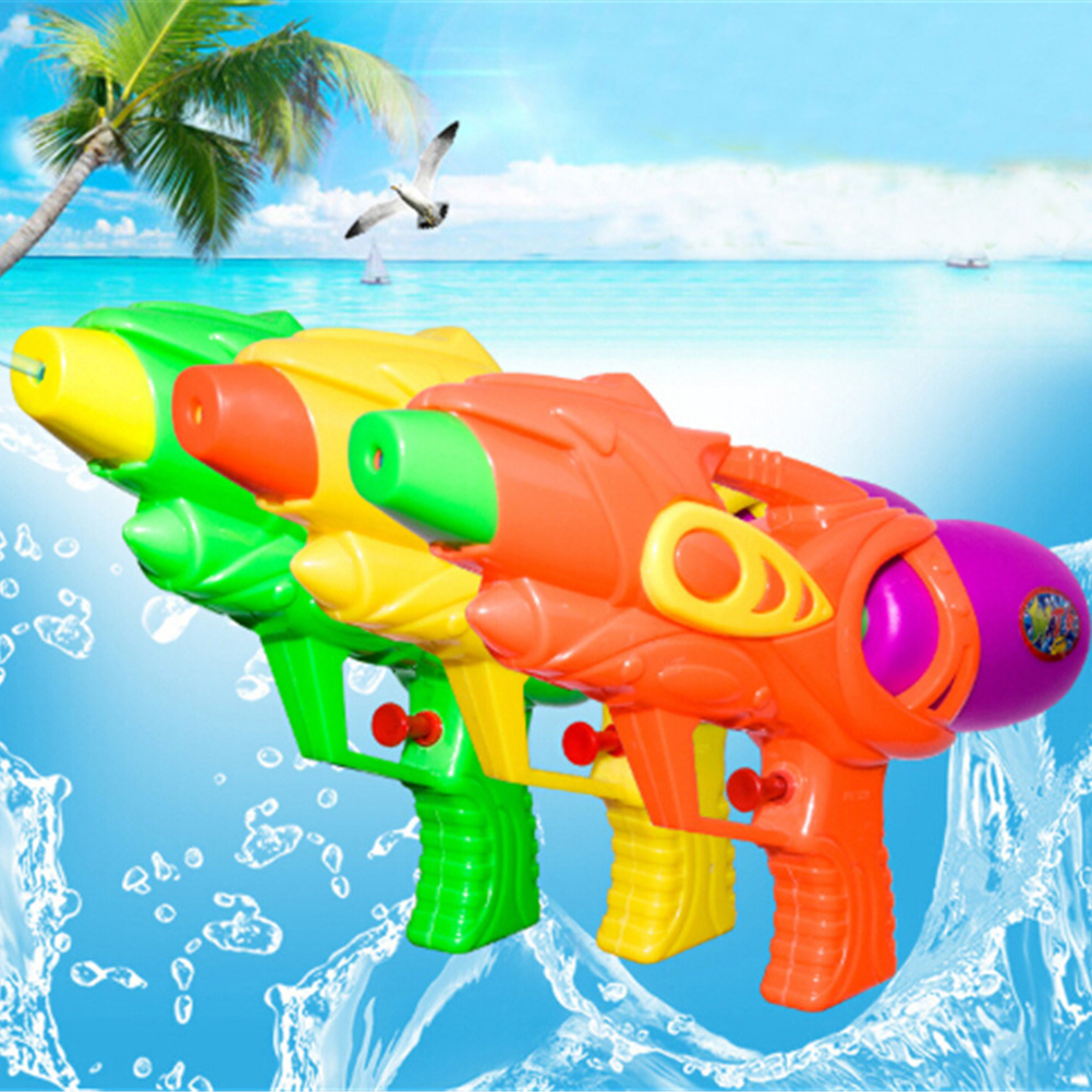 Outdoor Children Playing Water Toys Super Summer Children Fight Beach Kids Blaster Toys Spray Water Guns Toy