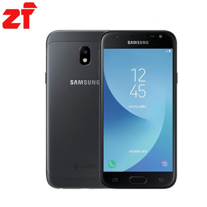 new Original Samsung Galaxy J3 2017 J3300 Unlocked 5.0″ Dual SIM Fingerprint 13.0MP Snapdragon Quad Core LTE Smartphone With NFC