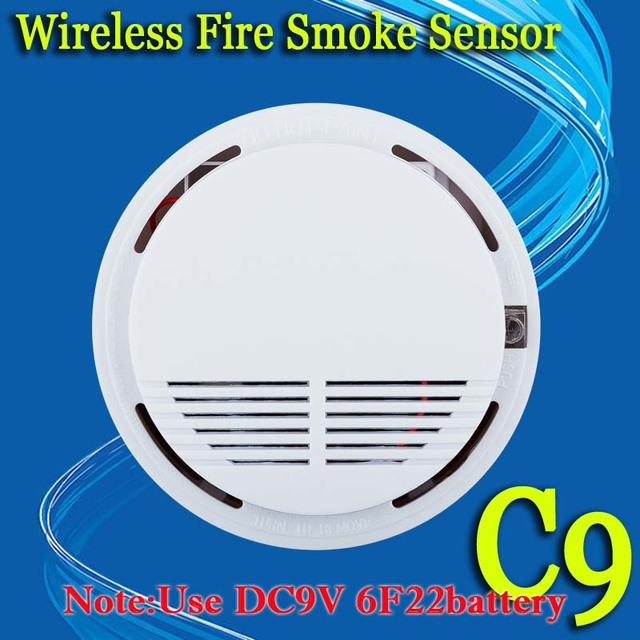 !Wireless Smoke Fire Leakage Detector Sensor 433MHz or 315MHZ For Our GSM PSTN office home security Alarm System