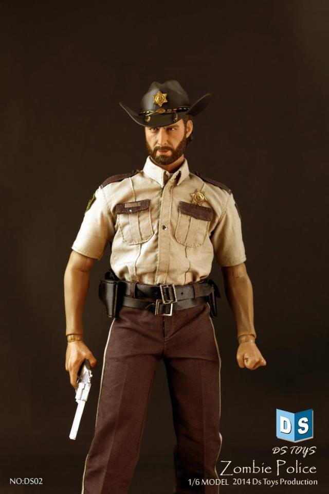 1/6 scale figure doll THE WALKING DEAD RICK in Police Uniform 12 Action figure doll Collectible Figure Plastic Model Toys набор фигурок the walking dead 4 в 1 8 см
