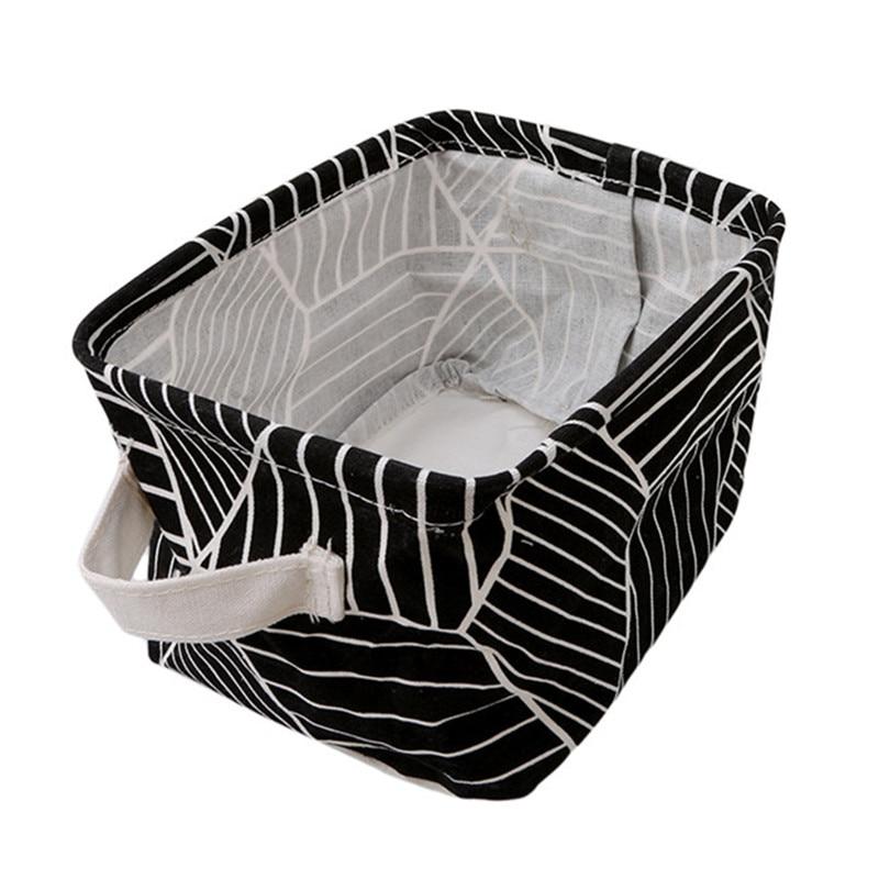 Case Storage-Basket-Holder Make-Up-Organizer Stationery Jewelry Cosmetics Rectagular-Form