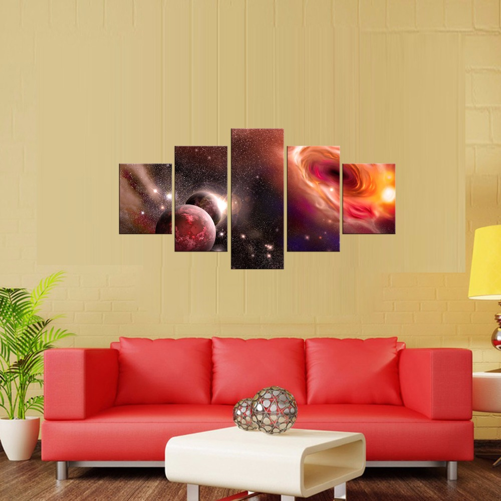 Framed 5 Panel Large HD Printed Starter poster Painting Canvas Art ...