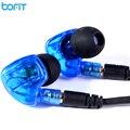 BOFIT 3.5 MM In Ear Fone de Ouvido fone de Ouvido Ergonômico Destacável Esportes de Música de Alta Fidelidade Qualidade de Som Baixo Pesado Fones De Ouvido Com Microfone