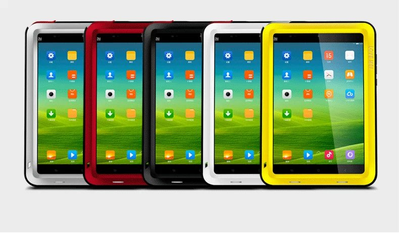 Love Mei Poweful Armor Cover Waterproof Case for Xiaomi Pad MiPad Mi Pad 1 Fundas Shell Housing Water/Dirt/Shock/Rain Proof сэндвичница clatronic st 3477