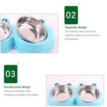 Pet Dog Water Bowl Feeding Feeder Cute Shape Dog Feeder Drinking For Cats Dogs Water Dispenser Dog Food Bowl Pet Products