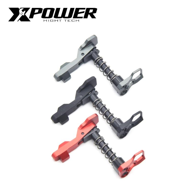 AEG XP XPOWER New arrival CNC Card falcon mag release button Metal Aluminum alloy Accessories Refit Hot sales