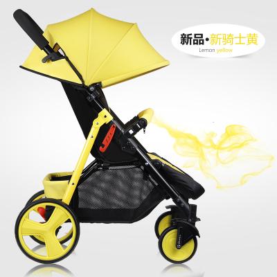 O carrinho pode sentar-se pode mentir carro guarda-chuva leve portátil dobrável verão bebê crianças de quatro rodas carrinho