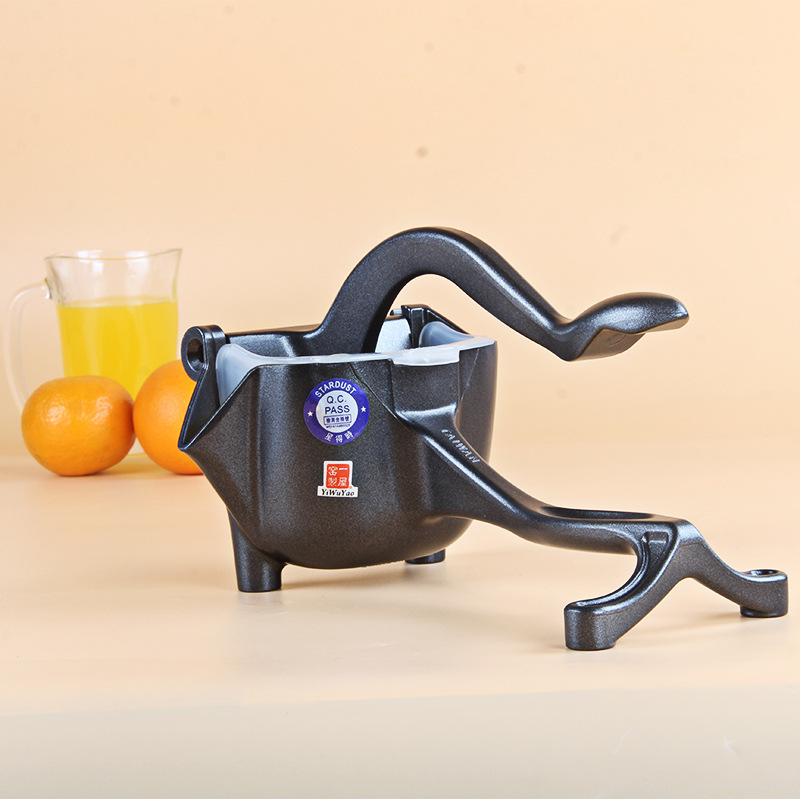 Zorasun Handy Lemon Squeezer Kitchen Hand Tools Alloy Lemon Juicer Orange Queezer Juice in Squeezers Reamers from Home Garden