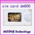 Cartão Sim para 2.01 DM800hd DM800 SIMcard 2.01, DM800s sim2.01 Receptor de Satélite Digital Pós Frete Grátis