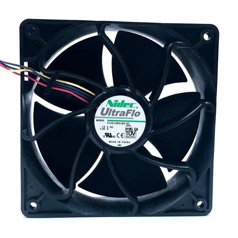 6500 RPM Fan for AntMiner D3//L3+//S9//T9//S7//X3//Z9 AsicMiner Nidec UltraFlo V12E12BS1B5-07