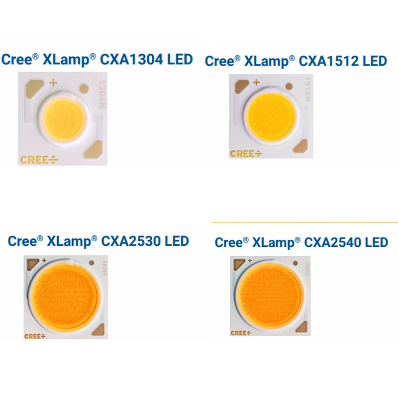 10PCS/lot Cree CXA1304 CXA1507 CXA1816 CXA1820 CXA2011 CXA2520 CXA2530 CXA2540 2700K 3000K 3500K 5000K 6500K COB Chip Diode LED