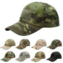 Puimentiua 17 Pattern For Choice Snapback Camouflage Tactical Hat Patch Army Tactical Baseball Cap Unisex ACU CP Desert Camo Hat(China)