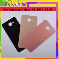 case samsung galaxy 10Pcs/lot For Samsung Galaxy A510 A510F A5100 A5 2016 Housing Battery Door Rear Back Glass Cover Case Chassis Shell Replacement (2)