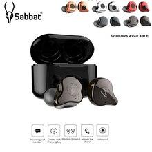 Sabbat E12 TWS мини беспроводные Bluetooth 5,0 наушники гарнитура бинауральные стерео наушники-вкладыши с микрофоном