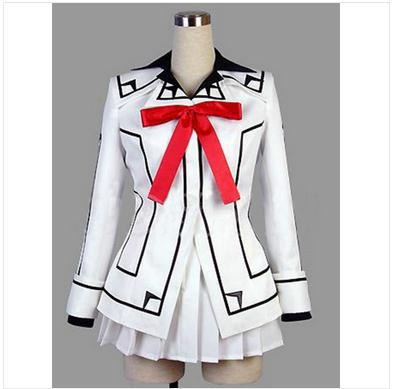 Anime Vampire Knight Cosplay Costume Kuran Yuki Cross White