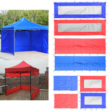 Canopy Tent Sidewall Awning Sunwall Waterproof Sun Wall Sunwall Replacement Outdoor Party Gazebo Tent Sun Shelter(China)