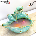 Water Fountain Resin Crafts Decoration Crafts Home Decor Creative gift Home Furnishing round table aquarium