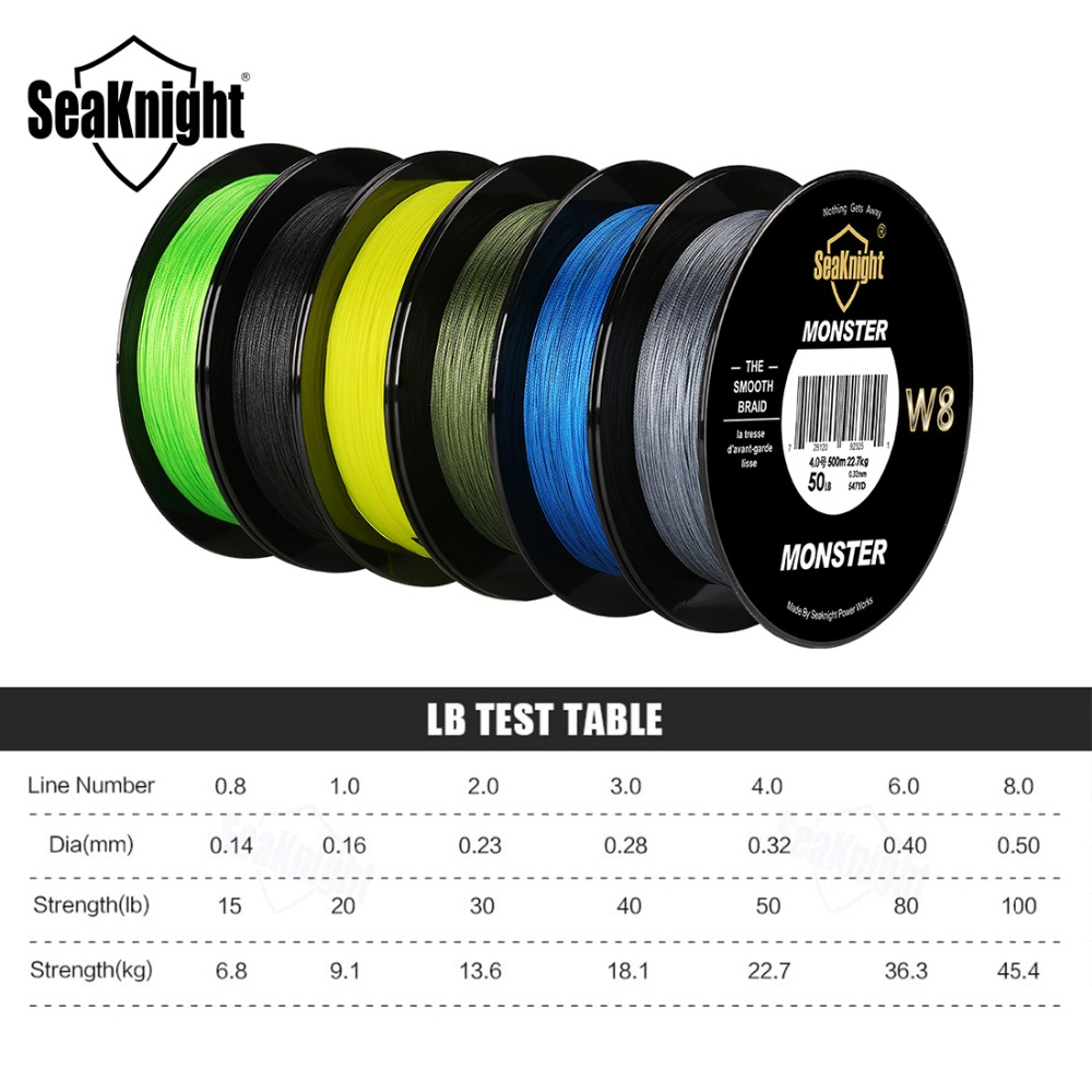 Image 3 - New Super 8 Strands 500M Wide Angle Technology PE Braided Fishing Line 15LB/6.8KG Wire Rope For Sea Carp Fishing 4 Colors-in Fishing Lines from Sports & Entertainment