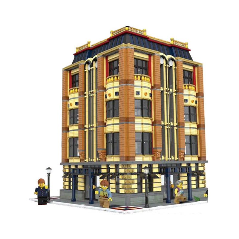 Bevle 15016 7968Pcs Creative MOC City Street Building The Apple University Set Building Block Toys Compatible with Lepin heys canada 15016 0017 21