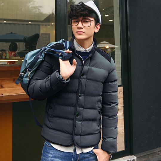 Remarkable Aliexpress Com Buy Winter Mens Cotton Down Jacket Korean Style Hairstyles For Men Maxibearus