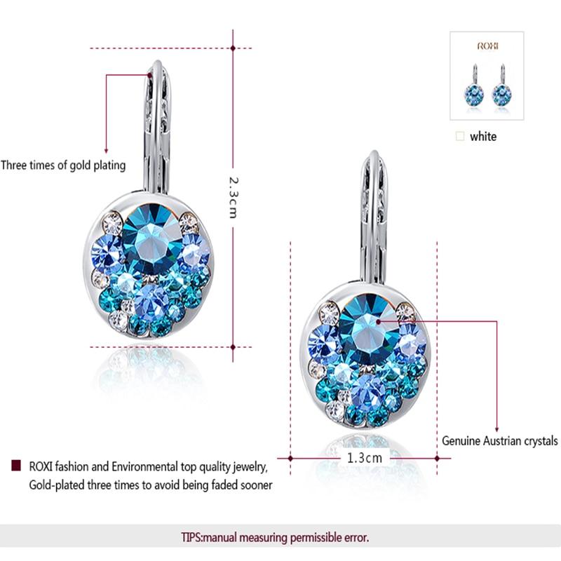 GS Ականջօղեր Կանացի Զարդեր AAA ցիրկոն - Նորաձև զարդեր - Լուսանկար 2