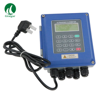 TUF 2000B TM 1 Wall Mount Ultrasonic Digital Flow Meter Pipe Size DN15 6000m TUF 2000B TM 1