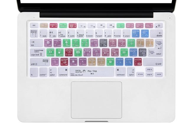 For A1278 Adobe After Effects Shortcuts Hotkeys Design Silicone