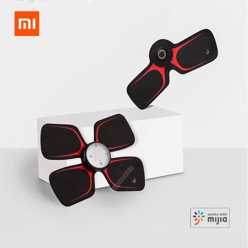 Xiaomi Mijia LF สี่ล้อนวด Magic สติกเกอร์ไฟฟ้านวดผ่อนคลายกล้ามเนื้อทำงานร่วมกับ Mijia App-ใน รีโมทคอนโทรลอัจฉริยะ จาก อุปกรณ์อิเล็กทรอนิกส์ บน AliExpress - 11.11_สิบเอ็ด สิบเอ็ดวันคนโสด 1