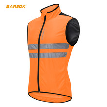 WOSAWE Reflective Sleeveless Motorcycle Jackets Coat High Visibility Waterproof Top Windbreaker Summer Breathable Racing Clothes стоимость