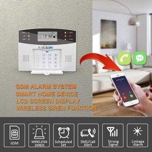 Image 3 - Новинка 2019! Беспроводная GSM сигнализация Earykong с ЖК клавиатурой, дверным детектором Winodw, беспроводной стробоскоп, сирена, PIR датчик, сигнализация M2B