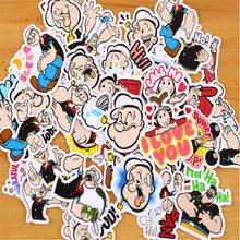 40pcs Creative kawaii Self-made Popeye  Stickers/ Beautiful Stickers /Decorative /DIY Craft Photo Albums