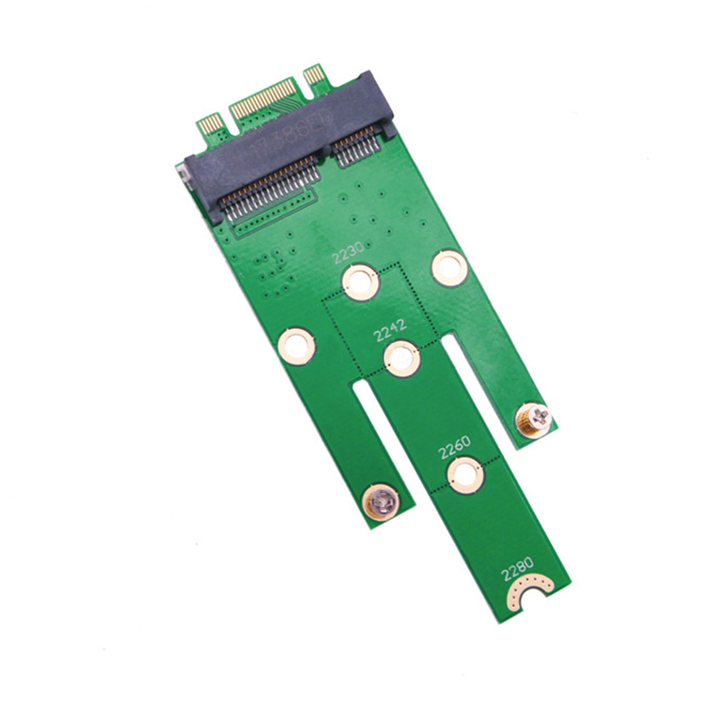 Key To MSATA  Mini Expansion Desktop Add On Converter SSD 2242 2230 2260 Adapter Card M.2 B Connector Boards PCI-e