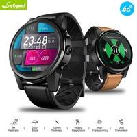 leegaol GPS WIFI Smart Watch Men THOR 4 PRO 4G SmartWatch SIM Bluetooth 4.0 16GB+1GB 5MP Camera 1.6 inch Crystal Display 600mAh