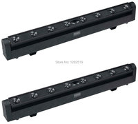 2pcs 8 10W RGBW 4IN1 Beam Cree Led Bar Moving Head DMX Dj Lighting