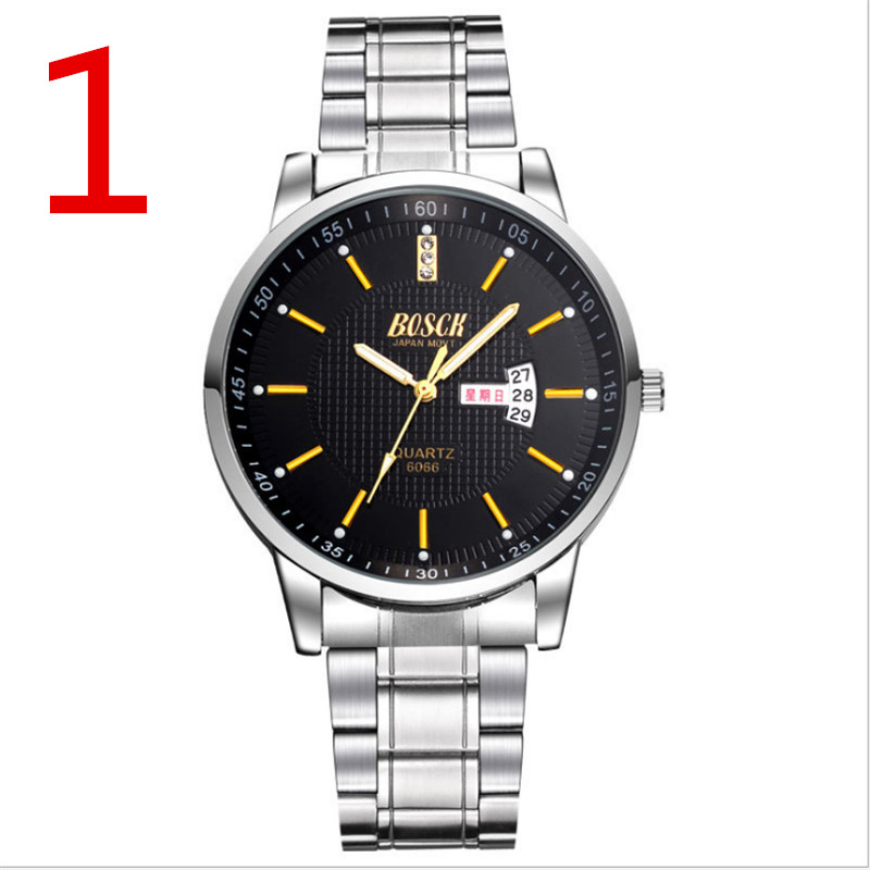 wang High quality male quartz watch, classic style. цена и фото
