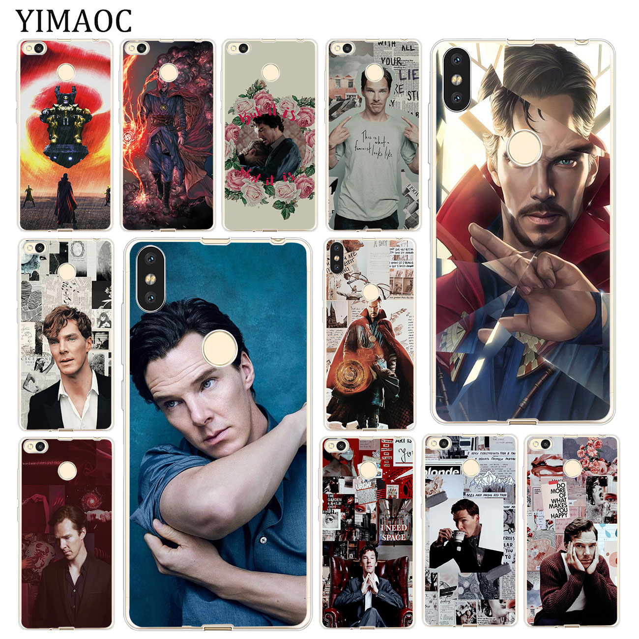 Fitted Cases Phone Bags & Cases Doctor Strange Benedict Cumberbatch Soft Case For Xiaomi Mi Redmi S2 6a 4a Note 7 5 6 Pro Plus 5a Prime 4 4x Cover Pure Whiteness