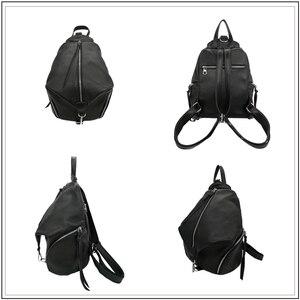 Image 2 - AVRO mochila informal de MODA para mujer, bolso de hombro de piel auténtica de gran capacidad para adolescentes, mochilas de viaje escolares