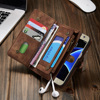 S7 Luxury Genuine Leather Case For Samsung Galaxy S7 G9300 Wallet Flip Phone Bag Cases Leather