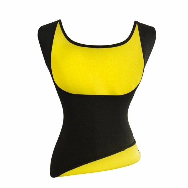 639b465687f Women Neoprene Slimming Belt Weight Loss Tummy Control Vest Sweat Sauna  Suits Workout Body Shaper Waist Trainer Shapewear