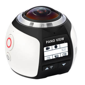 Sansnail V1 camera 360 Action Camera Wifi 2448*2448 Ultra HD Mini Panorama Camera 360 Degree Sport Driving VR Camera